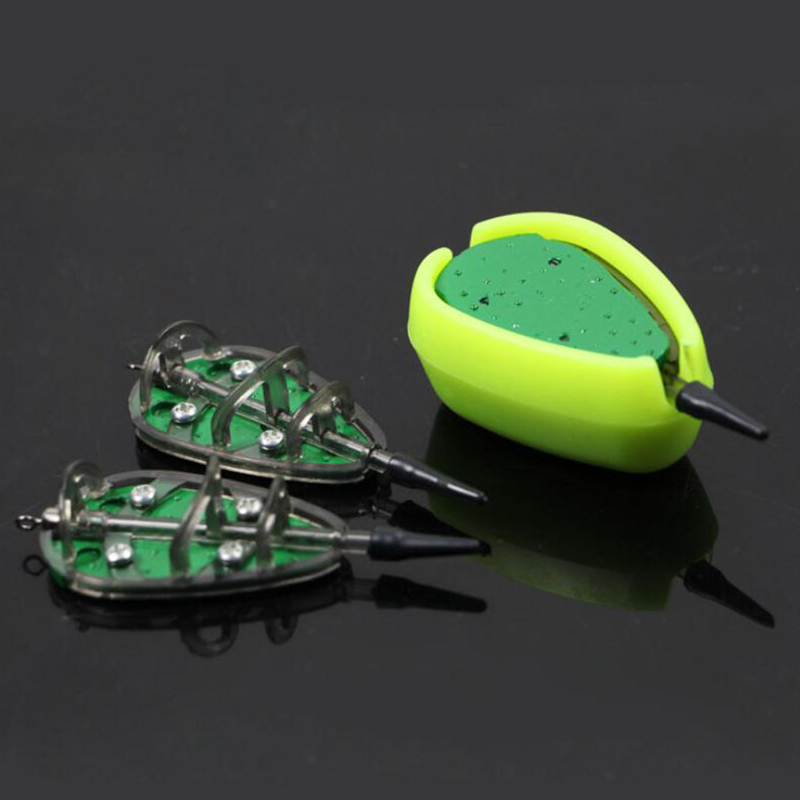 Good 1PC Carp Fishing Method Feeder Quick Release Method Feeder Carp Lead Sinker Method Bait Lure Accessories Fishing Tool