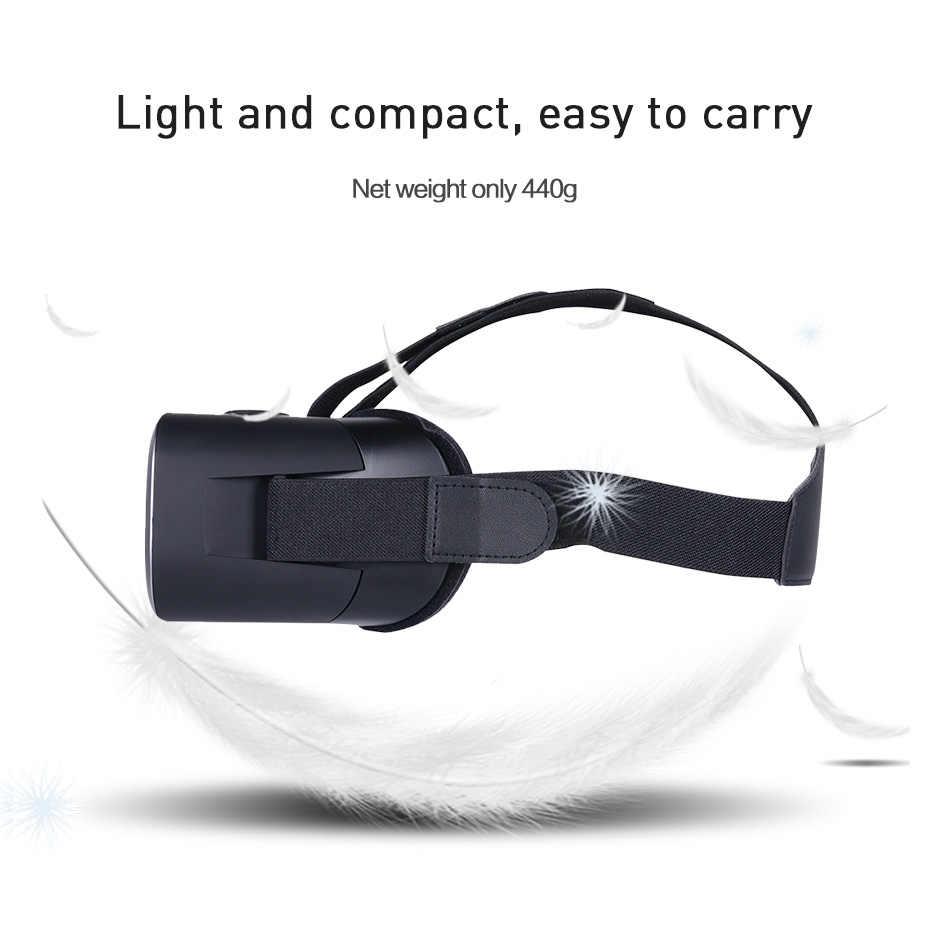 نظارات الواقع الافتراضي ثلاثية الأبعاد الواقع الافتراضي الكل في واحد سماعة رأس HDMI S900 رباعية النواة 2K واي فاي الواقع الافتراضي لأجهزة الكمبيوتر PS4 Xbox One Game