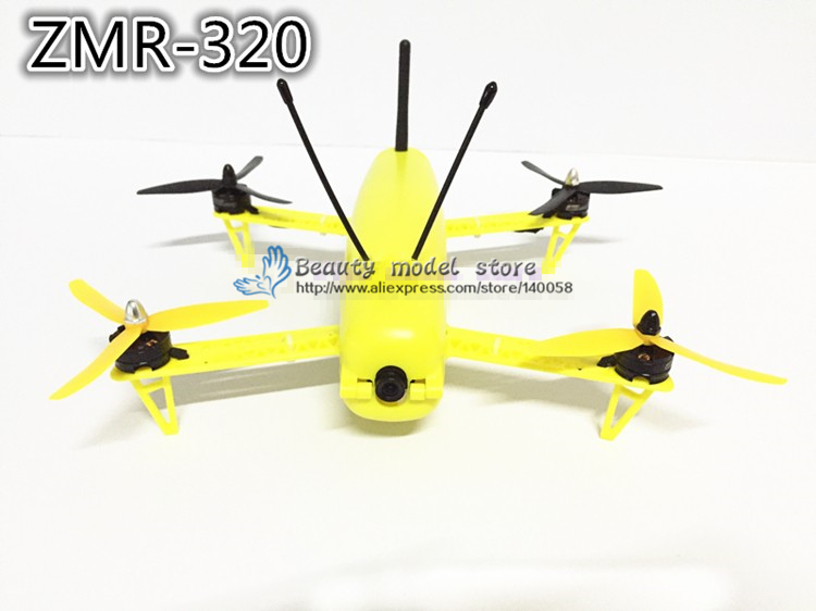 DIY MINI FPV ZMR 320 4-Axis Racing Quadcopter Kit with cross racing frame Four axis multi ZMR 320 intelligent integration frame diy fpv mini drone qav210 zmr210 race quadcopter full carbon frame kit naze32 emax 2204ii kv2300 motor bl12a esc run with 4s