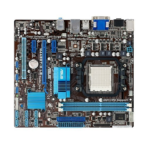 Used,For Asus M4A88T-M LE Original Used Desktop Motherboard 880G Socket AM3 DDR3 SATA II USB2.0 original used desktop motherboard for asus p5ql pro p43 support lga7756 ddr2 support 16g 6 sata ii usb2 0 atx