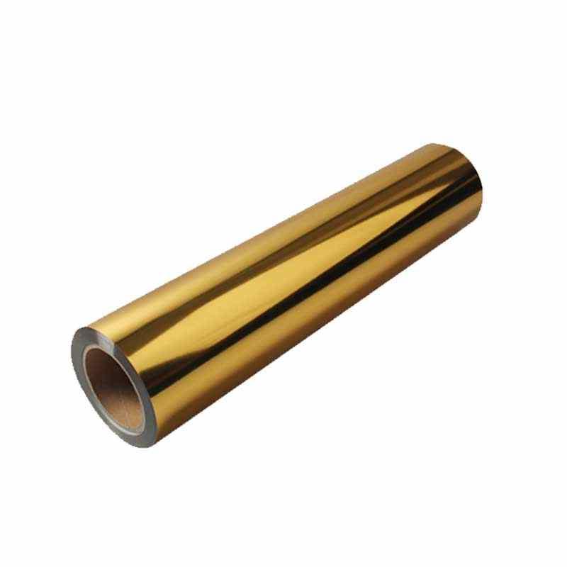 Vinyls Wholesale metallic gold foil heat transfer vinyl HTV for tshirt transfer vinyls width 20 inch length free customize films