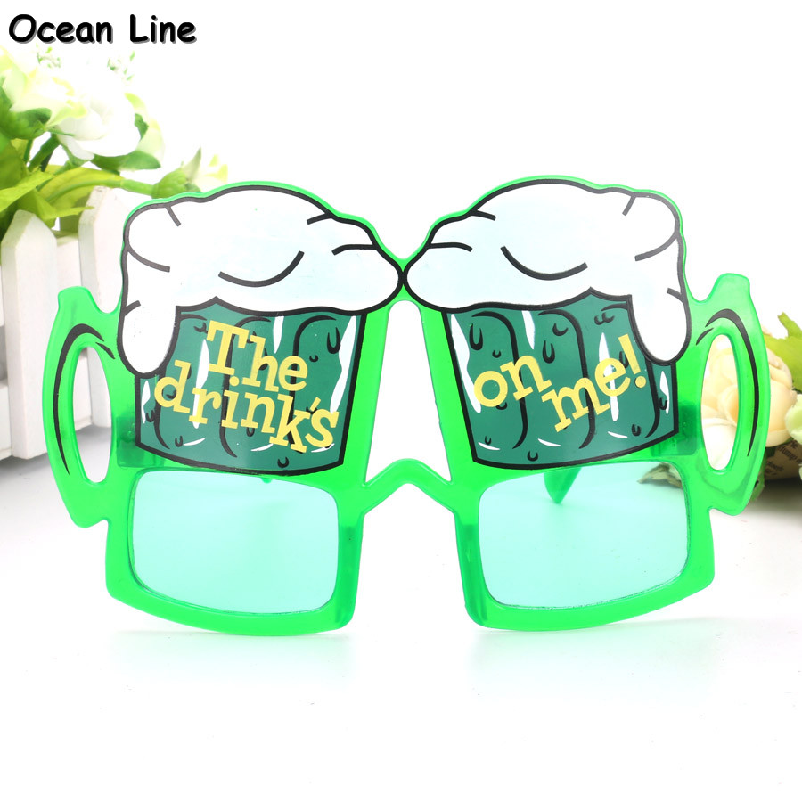 Funny Beer Cup Wine Plastic Costume Glasses Photobooth Props Holiday Beach Oktoberfest Bar Googles Party Supplies Decoration - Ocean Line Store store