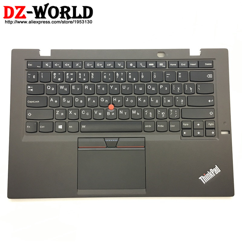 New/Orig for Lenovo Thinkpad X1 Carbon 3rd 20BS 20BT Russian Backlit Keyboard with Palmrest Touchpad 00HT323 00HN968 SM20G18628 цена