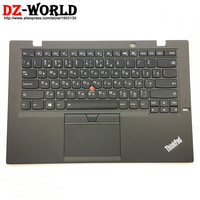 New/Orig for Lenovo Thinkpad X1 Carbon 3rd 20BS 20BT Russian Backlit Keyboard with Palmrest Touchpad 00HT323 00HN968 SM20G18628