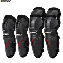 BSDDP Motorcycle Elbow & Knee Pads Motocross Protective Gear Set Unisex Kneepad Riding Protector Guards