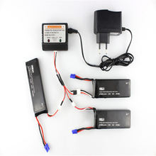 H501S 2PCS or 3pcs Battery 10C 7.4V 2700mah RC Drone Battery For H501s RC Quadcopter Drone Spare Parts