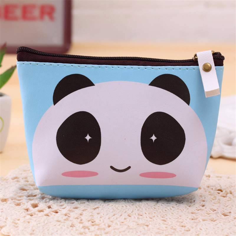 New Creative Cartoon Coin Purses Cute Animal PU Children Zipper Change Purse Wallet Money Bag Key Holder Wallet For Kids Gift 2015 new arrival kids rabbit animal pattern wallet children baby purse women girl coin bag key pouch for birthday gift