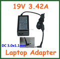 50pcs 19V 3.42A 65W AC Adapter Battery Charger for Acer Aspire P3 S5 S7 S7-391 S7-391-6822 Ultrabook Power Supply Adapter