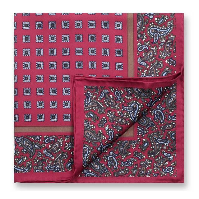 [43% OFF] 45*45 см шелковицы Bocoos мода костюм платок мода моды для мужчин