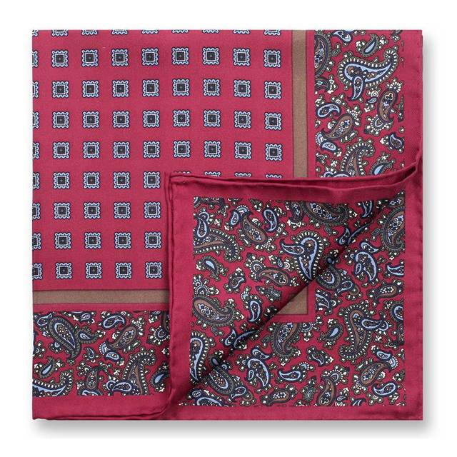 [43% de DESCONTO] 45*45 cm Bocoos lenço de seda amoreira moda terno homens da moda fashion