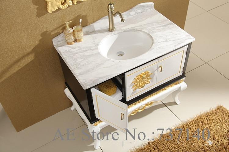 Aliexpresscom Buy luxury furniture solid oak wood bathroom