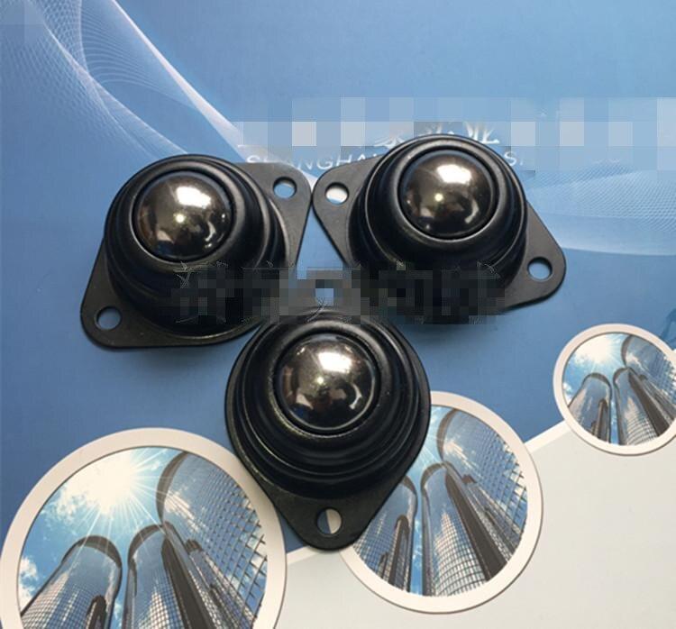 New 6 pcs Dia 1/'/' 25.4mm Ball Metal Transfer Bearing Unit Conveyor Roller