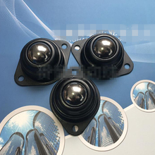 1 предмет, комплект из 2 предметов 5 шт. 8 в черном корпусе с 30 кг CY-25A Dia 1 ''25,4 мм шар переноса металла подшипниковый узел для конвейерного ролика колеса Офис