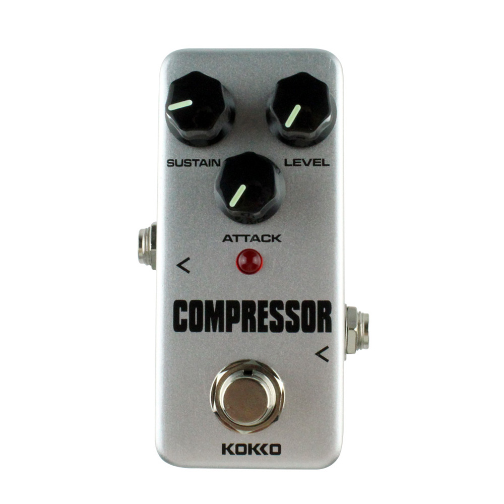 new kokko high quality fcp 2 compressor guitar effect pedal mini electric bass guitar effects. Black Bedroom Furniture Sets. Home Design Ideas