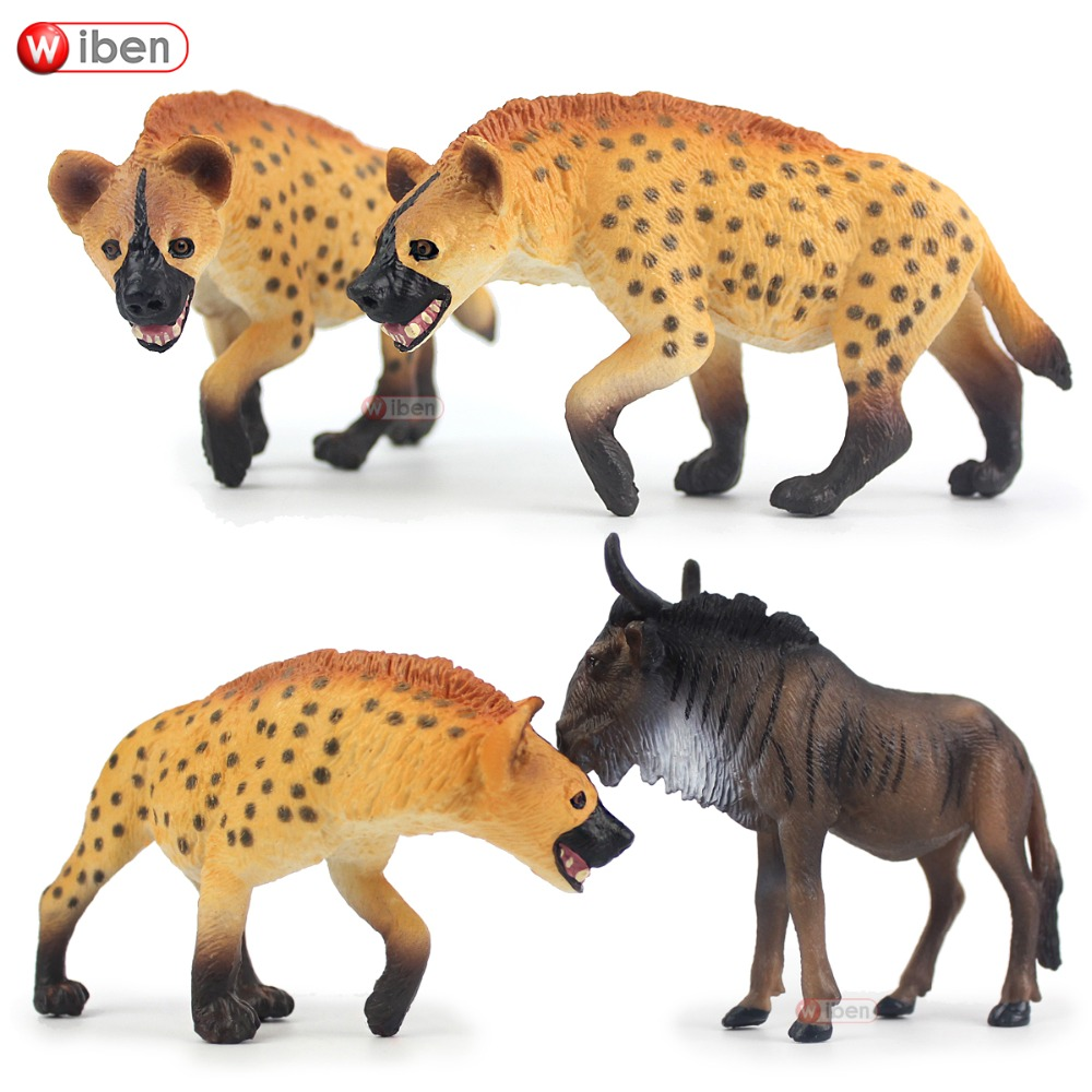 Wiben Hyena Wildebeest Simulation of Animal Models Action Toy Figures High Quality Collection Boys Gifts estimation of shrinkage of cast al si alloy using simulation