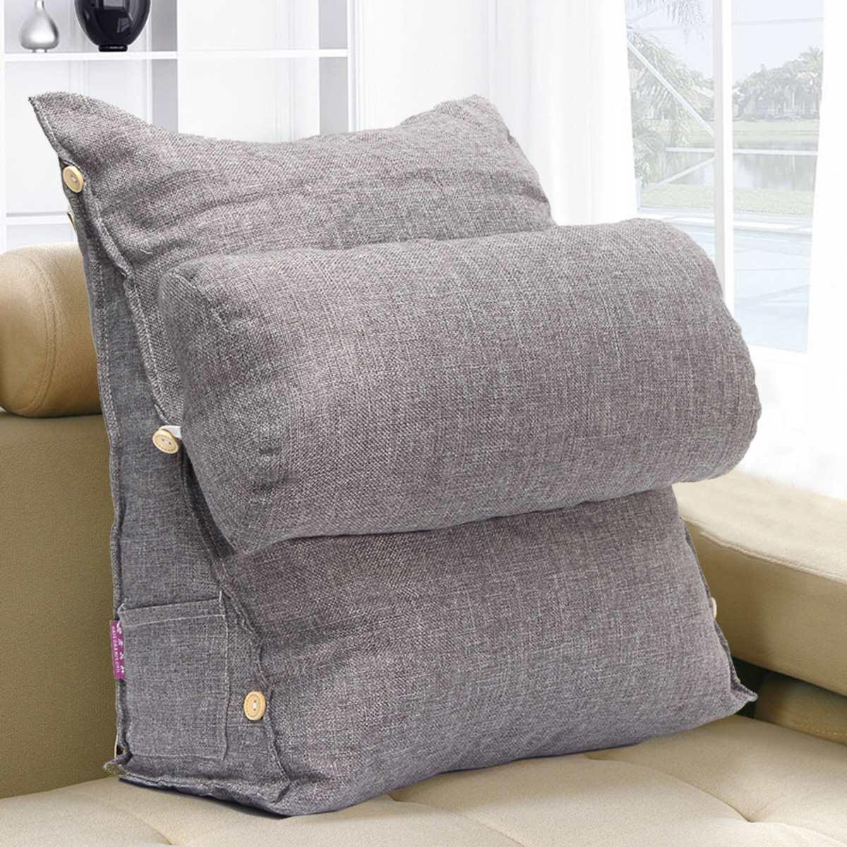 sofa cushion support reviews jardan nook modular gray adjustable bed pillow chair rest neck