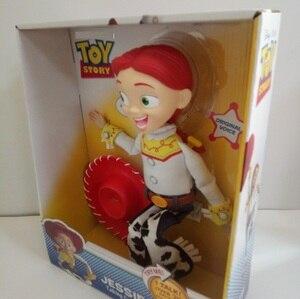 Image 5 - Pixar Original Toy Story 4 Viele Hee Woody Reden/Singen Jessie PVC Action Figure Sammeln Modell Geschenk Elektrische Plüsch spielzeug