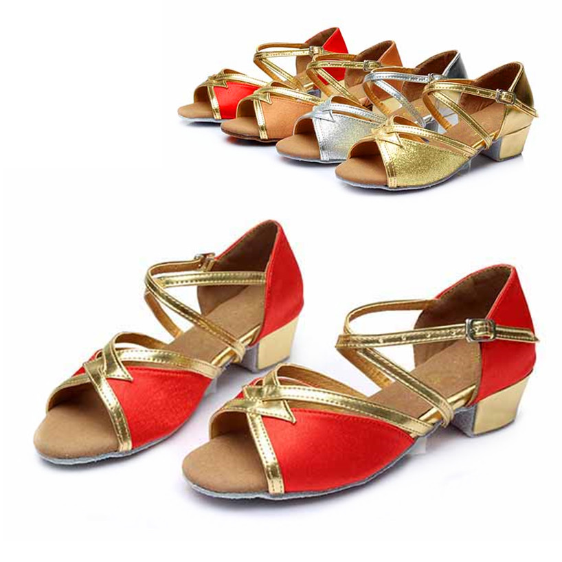Latin Dance Shoes For Girls Woman Ballroom Zapatos Salsa Mujer Zapatos De Baile Latino Mujer Zapatos De Baile Free Shipping