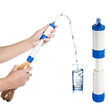 Water Filter Purification Straw for Outdoor Sports Camping Hiking Backpacking Climbing Mountaineering Emergency Survival Tool