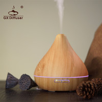 GX 13K 300ml Air Purifier 7 Colorful Lights Ultrasonic Aromatherapy Essential Oil Humidifier Electric Household Aroma