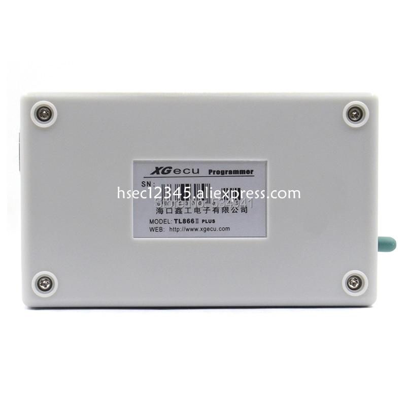 US $51 31 13% OFF|100% original V8 51 TL866ii Plus programmer+10 Adapter  XGecu minipro TL866 programmer socket NAND programmer replace TL866cs/A-in