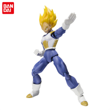 Dragon Ball Z Original BANDAI Tamashii Nations SHF S.H.Figuarts Action Figure - Super Saiyan Vegeta Premium Color Edition