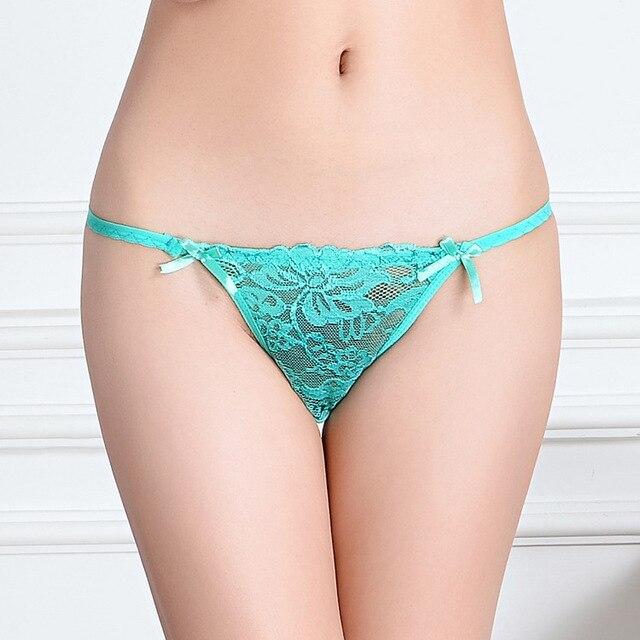 12Pcslot Sexy Women Thong G String Ladies Panties Briefs -7623