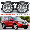 Para suzuki grand vitara 2 jt 2005-2015 car styling faros antiniebla parachoques delantero faros antiniebla led de alta luminosidad 1 Unidades