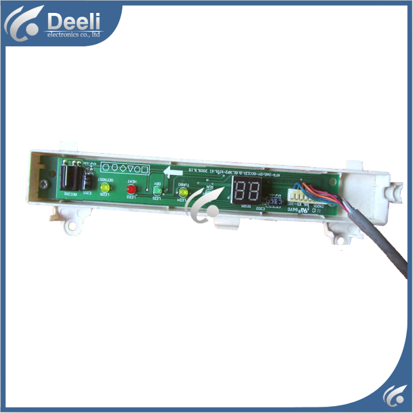 95% new good working for Air conditioning display board remote control receiver board plate KFR-26G/DY-GC(E2).D.01 indoor air conditioning parts mpu kfr 35gw dy t1 computer board kfr 35gw dy t used disassemble