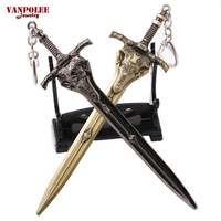2016 ARPG Game Dark Souls III 3 ARTORIAS Sword Weapon Keychian 15cm Big Figure Keychain Pendant