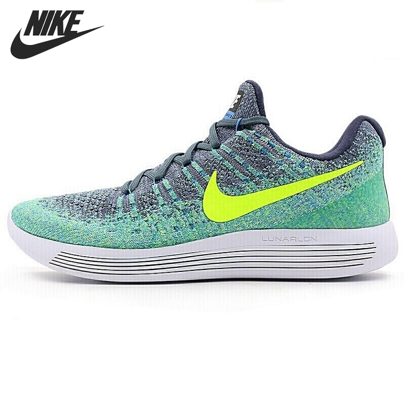 Original New Arrival NIKE LUNAREPIC LOW FLYKNIT 2 Men's Running Shoes Sneakers original new arrival nike free rn flyknit r women s running shoes sneakers