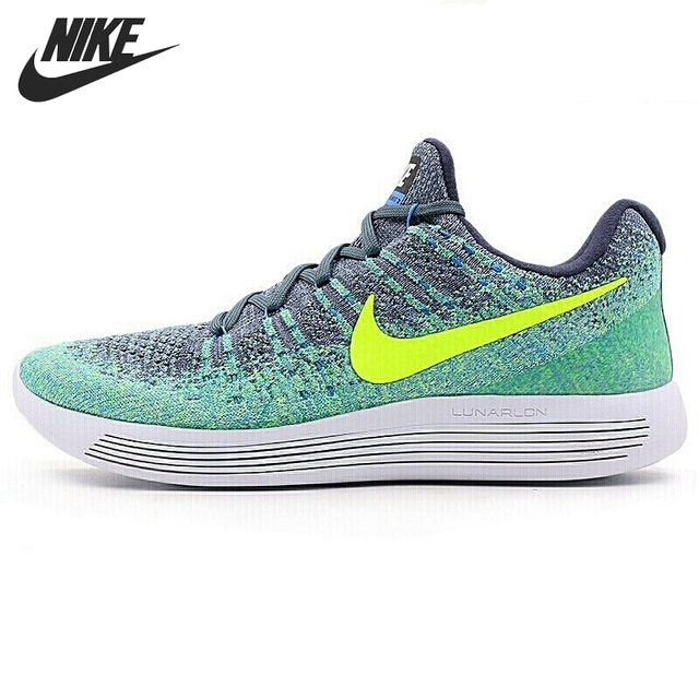 2326d1f76c93 Original New Arrival NIKE LUNAREPIC LOW FLYKNIT 2 Men s Running Shoes  Sneakers