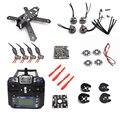 QAV210 210 210 мм Углеродного Волокна Рама Комплект FS-I6 NAZE32 12A ESC Eachine EV800 Гонки Кросс Drone FPV Системы Для RC Quadcopter +