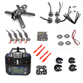 QAV210 210 210mm Carbon Fiber Frame Kit FS-I6 NAZE32 12A ESC Eachine EV800 FPV System For RC Quadcopter Racing Cross Drone +