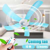 Remote control Electric Energy Saving Ceiling Fan 5 Blades 71CM Hanging Fan Silent household Air Conditioner Cooling Cooler Fan