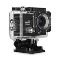 MOOL WiFi Full HD 1080P 12MP Car Cam Sports DV Action Waterproof Camera Camcorder Kit