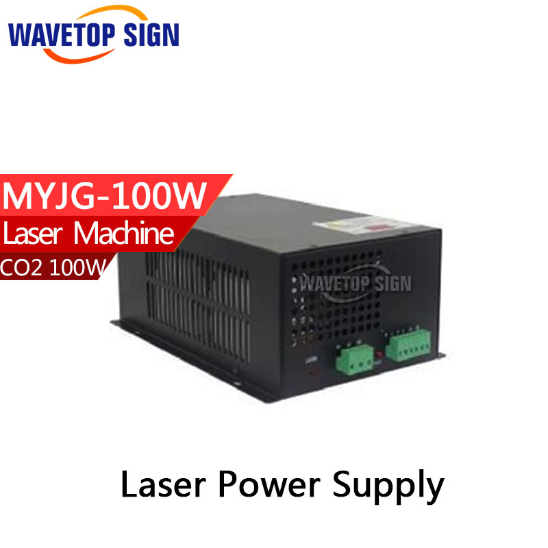 100W CO2 Laser Power Supply for CO2 Laser Engraving Cutting Machine MYJG-100W 60w co2 laser power supply for co2 laser engraving cutting machine myjg 60w
