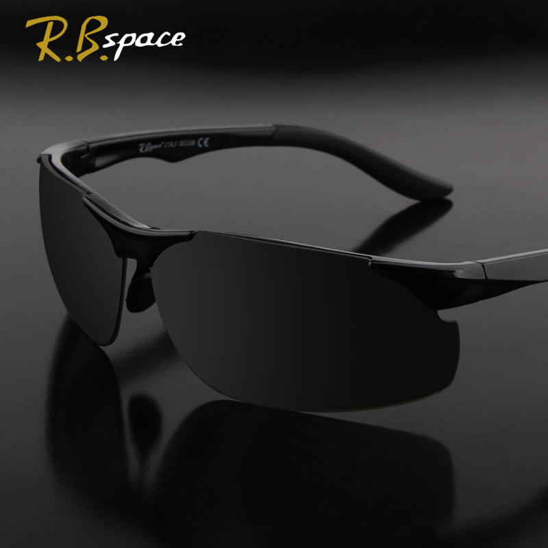 RBspace New fashion sunglasses men luxury brand designer sunglasses Man Driving Sun travel Sunglasses Essentials men sunglasses