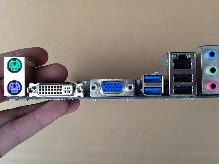 Используется, BIOSTAR B75MU3B оригинальный использовать рабочего Материнская плата Intel B75 LGA 1155 DDR3 16 г SATA3 USB3.0, 100% испытанное хорошее
