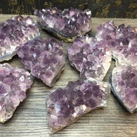 1Kg natural amethyst cluster reiki healing crystals rough gemstone drusy used for energy purification of jewelry for home decor