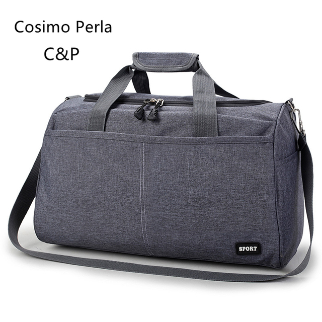 Multifunction Travel Nylon Sports Gym Bag Women Fitness Bags Waterproof Yoga Handbag Outdoor Training Short Trip Totes for Male