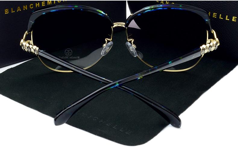 HTB13kaTiUl7MKJjSZFDq6yOEpXap - Blanche Michelle 2018 High Quality Square Polarized Sunglasses Women Brand Designer UV400 Sun Glasses Gradient Sunglass With Box