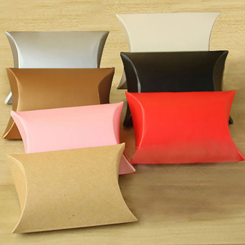 Solid Color Candy Boxes Cookie Bag Modern European New Pillow Boxes font b Home b font