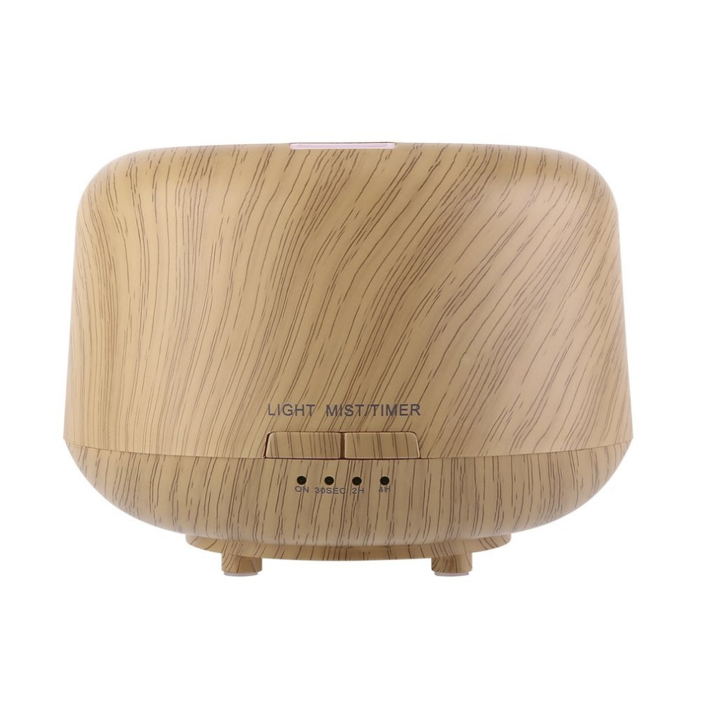 Essential Oil Diffuser 250ml Aromatherapy Diffuser with Wood Grain, Zen Style, Cool Mist and 7 Colors,Humidifier for Home