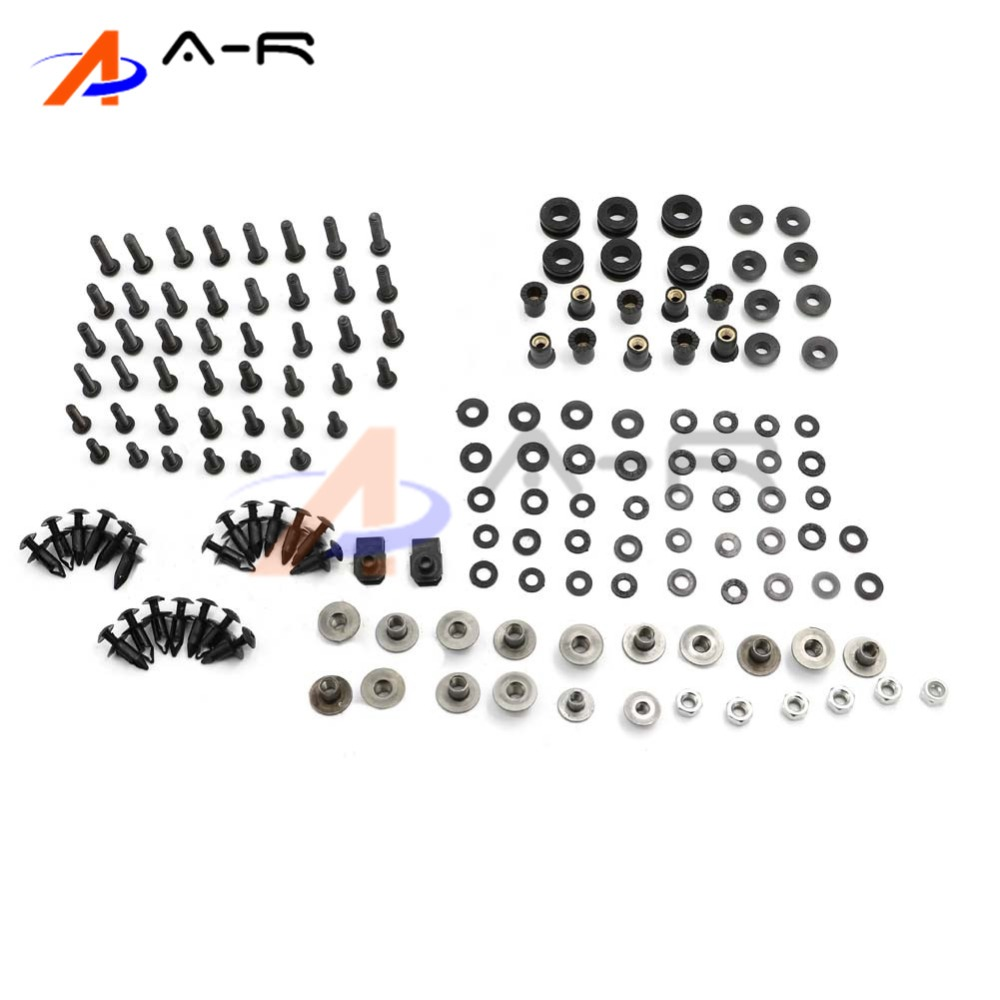 Motorcycle Fairing Bolt Screw Fastener Fixation for Yamaha YZF R1 2009-2014 2010 2011 2012 2013 motorcycle parts cnc fairing bolt screw fastener fixation for yamaha fz1 fazer 2006 2013 2007 2008 2009 2010 2011 2012 06 07 13