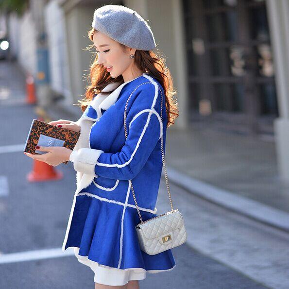 Parka Casual Preppy Veste En Style Épaississement Ruche Femmes 2018 Gros Poche Ourlet Chaud Hiver D'origine Mode Marque RXqwxTOt0