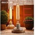 Винтаж керамические лампы эдисон настольная лампа 40 Вт личность украшения ретро ночник для спальни свет стол