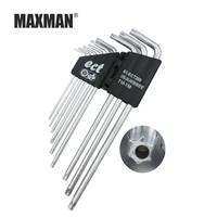 MAXMAN Multi function afterburner hex wrench set 9/piece set Hand tool Household tools