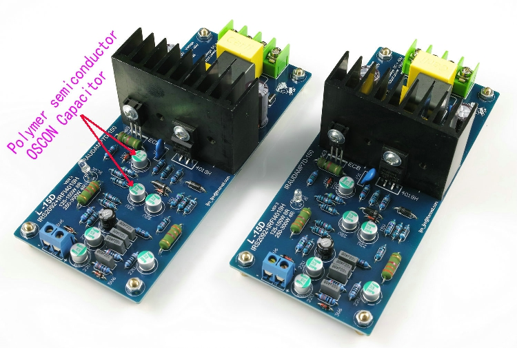 HOT SALE] 2PCS L15D PRO IRS2092S Audio Amplifier Board 300W Class D