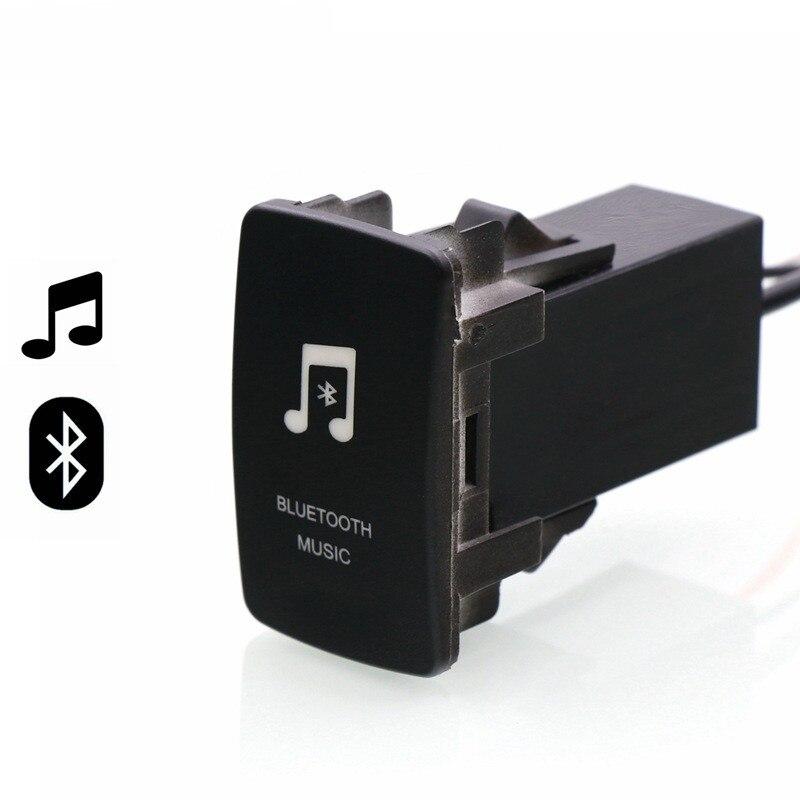 Bluetooth Car kit Handsfree Car Adapter Aux Audio Music Receiver Module Panel for Mitsubishi asx lancer outlander pajero Fortis